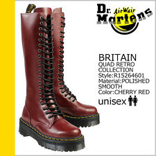 Dr. Martens Women`s Britain 20 eye Aggy Style Red Tall Boot US 9 EU 41 UK 7