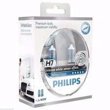 Philips H7 White Vision 4300K 60% More light 12972WHVSM Xenon Effect + 2  W5W