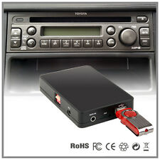 Car Stereo USB SD AUX MP3 CD changer adapter-Toyota Avensis Mark X 2004-2009