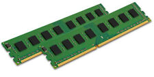 KINGSTON 2x 4GB 8GB PC RAM DIMM DDR3 1066 Mhz PC3-8500 KVR1066D3N7/4G PC3-8500U