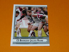 N°125 ACTION 1 BOURGOIN-JALLIEU PANINI RUGBY 2007-2008 TOP 14 CHAMPIONNAT FRANCE