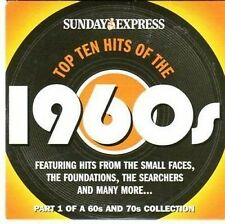 (CC658) Top Ten Hits of the 1960s, Sunday Express - 2004 CD