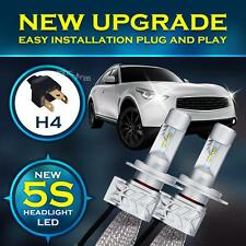 H4 9003 180W 18000LM PHILIPS LED Headlight Kit Hi-Lo Beam Bulb White 6500K Power