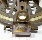 """Nautical Sextant Antique vintage Navigation Working Brass Sextant Gift 4"""" @"""