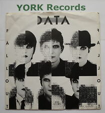 "DATA - Fallout - Excellent Condition 7"" Single Bellaphon BPS 001"