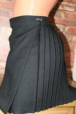 Beautiful black pleated  mini skirt size 10-12