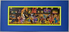Hanna Barbera SUPER HEROES & CHARACTERS COSTUME CONTEST PRINT PRO MATTED Wow