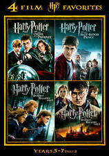 Harry Potter Years 5-7 Part 2 DVD+Slipcover, 4 Discs ~NEW~Widescreen