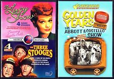 The Lucy Show -  The Three Stooges & The Abbott & Costello Show - 2 Comedy DVDs