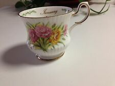 Queen's Fine Bone China England Special Flowers Carnation Rosina China Co. Ltd.
