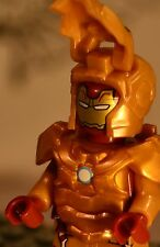 Custom made for LEGO blocks USA MARVEL Gold ULTIMATE Iron-Man w/t ARMOR