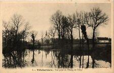 CPA Villeherviers - Vue prise de l'Etang de Trecy (253260)