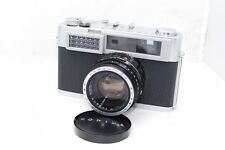 (4047) Konica SII Rangefinder Film Camera with 48mm f/2 Lens from JAPAN, EXC!!