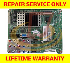 Samsung LN52A540P2FXZA Main Board *** REPAIR SERVICE *** TV Cycling On and OFF