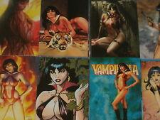 Vampirella 'serie 2' Completa Base Conjunto de 72 tarjetas comerciales de arte de fantasía Breygent