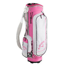 Ladies CALLAWAY SOLAIRE Caddy Bag Pink From Japan New
