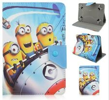 -Despicble Me Universal Leather Stand Flip Cover Case For 7 Inch MID Tablet Case