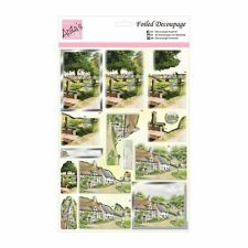 Do-crafts Anita's Foiled Decoupage pre cut - Riverside Cottage for cards & craft