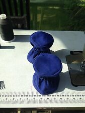 Waterproof Real Canvas Winch Covers Sizes 1 Blue, Cream, Black & Red