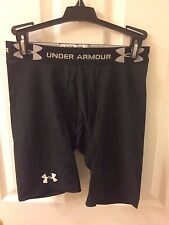 Men's Under Armour Compression Shorts Black Large Spandex Running Base