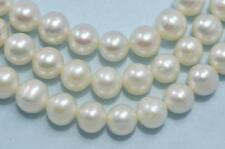 5-6mm Ivory White Round Freshwater Pearls Beads for Jewellery Making
