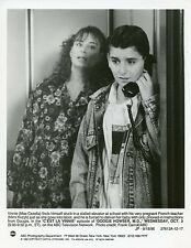 MAX CASELLA ON TELEPHONE MIMI KVZYK DOOGIE HOWSER M.D. ORIGINAL '90 ABC TV PHOTO