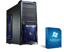 PC Quad Core Computer GAMER A8 7600 4x 16GB 2TB Rechner Komplett Windows 7 Pro