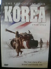 Korea - The Forgotten War (2 Set DVD, 2005) 1950-1953 WORLD SHIP AVAIL