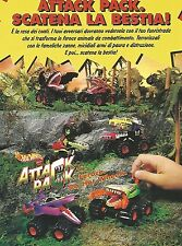 X7982 Attack Pack - Hot Wheels - Mattel - Pubblicità 1994 - Vintage advertising