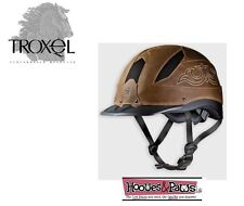 TROXEL CHEYENNE WESTERN SUREFIT PRO SAFETY RIDING HELMET LOW PROFILE HORSE LARGE