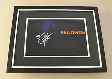 John Carpenter Signed Framed 16x12 Photo Display Halloween Autograph Memorabilia