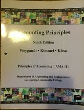 Accounting Principles 9th Edition: Weygandt, Kimmel & Kies