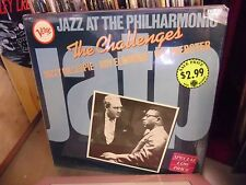 The Challengers Jazz At The Philharmonic LP Verve EX IN Shrink [Dizzy Gillespie]