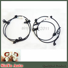 New ABS Wheel Speed Sensor Front Left & Right  for Scion XD Toyota Yaris Set 2