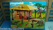 Safari 5907 Playmobil diorama toy for collectors rhino Giraffe Elephant NEW