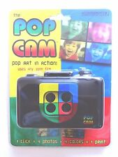 Pop Cam Camera Shot 4 Pictures At Once 35mm Andy Warhol Lomo Lomography Novelty