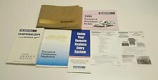 1999 SUBARU FORESTER OWNERS MANUAL V4 2.5L S LE BASE FUSES RADIO FLUIDS AWD 2WD