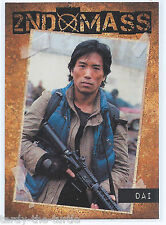Falling Skies Season 1 Trading Chase Card  2nd Mass SM9 Serial Number 028 of 325
