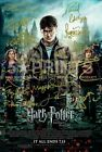 SIGNED PP x15 HARRY POTTER DEATHLY HALLOWS FINALE 12x8 PHOTO POSTER PERFECT GIFT