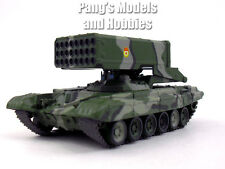 Soviet TOS-1 Multiple Rocket Launcher - Thermobaric 1/72 Scale Diecast Model