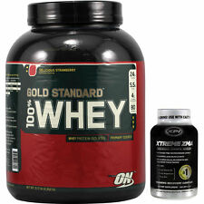 100% Whey (Strawberry 5.17lb) with Xtreme ZMA - Protein/Recovery Pack