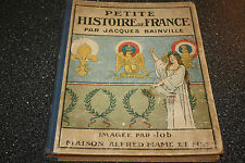 ILLUSTRATED PETITE HISTOIRE DE FRANCE BOOK 16 EXQUISITE LITHOGRAPHS BY JOB 1928