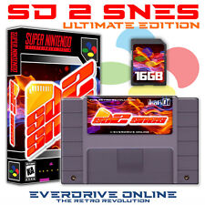 SD2SNES EverDrive UE (Super Nintendo NTSC-U/C Cartridge/Case/16Gb SD) Brand New