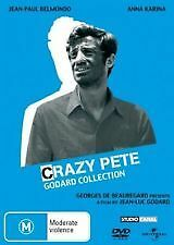CRAZY PETE – GODARD COLLECTION (DVD), R-2,4.LIKE NEW, FREE POST IN AUSTRALIA