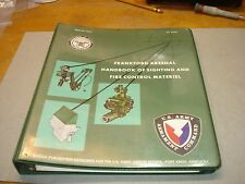 ST 9-100 Frankford Arsenal handbook on fire control materials, fort knox 1976