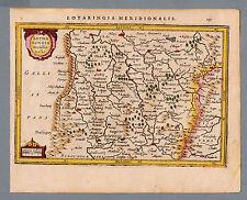 Lotaringia Meredionalis - original Kupferstich Atlas Minor HONDIUS von 1628