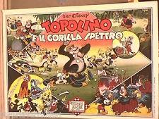 TOPOLINO E IL GORILLA SPETTRO A cura di Ernesto Traverso Walt Disney Fumetti di