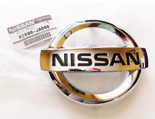 2007-2012 Nissan Altima Front Radiator Grill Grille Chrome Emblem Decal OEM NEW