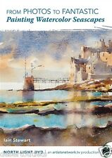 NEW! Painting Watercolor Seascapes with Iain Stewart [DVD]