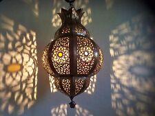 Lustre plafonnier marocain fer forgé lampe applique lanterne oriental 40 cm 2S